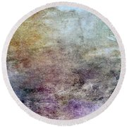 Abstract 47 Round Beach Towel