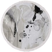 Abstract 49 Round Beach Towel