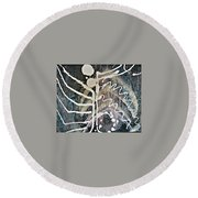 Abstract 6 Round Beach Towel