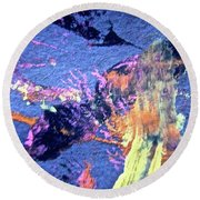 Abstract 6792 Round Beach Towel
