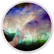 Abstract 7007 Round Beach Towel