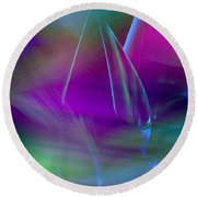 Abstract 845 Round Beach Towel