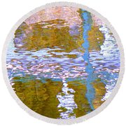 Abstract Directions Round Beach Towel