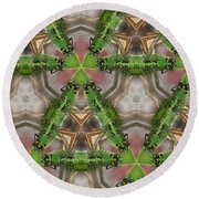 Abstract Dragons Round Beach Towel
