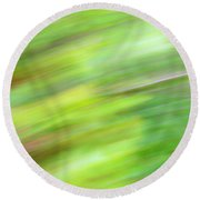 Round Beach Towel featuring the photograph Abstract Expressionism Field 2 by Marilyn Hunt