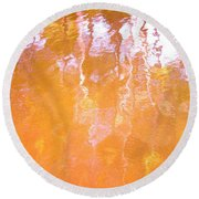Abstract Extensions Round Beach Towel