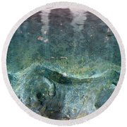 Abstract In Stone Round Beach Towel by Desiree Paquette