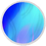 Abstract No. 10 Round Beach Towel