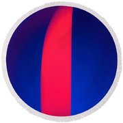 Abstract No. 13 Round Beach Towel