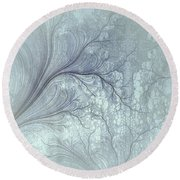 Abstract No 21 Round Beach Towel