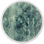 Round Beach Towel featuring the digital art Abstract No 22 by Robert G Kernodle