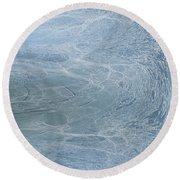 Round Beach Towel featuring the digital art Abstract No 24 by Robert G Kernodle