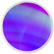 Abstract No. 4 Round Beach Towel