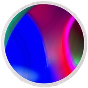 Abstract No. 9 Round Beach Towel
