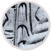 Abstract No. 97-2 Round Beach Towel