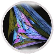 Abstract2016 Round Beach Towel