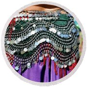 Accessories Round Beach Towel by Kathy Baccari