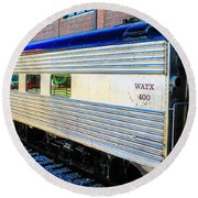 Moultrie Dining Car Round Beach Towel