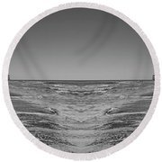Across The Way Round Beach Towel