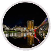 Adelaide Riverbank Round Beach Towel
