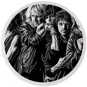 Aerosmith Collection Round Beach Towel