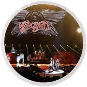 Aerosmith Round Beach Towel