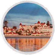 Afloat 6x16 Panel 2 Round Beach Towel