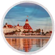 Afloat Panel 3 24x Round Beach Towel