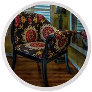 African Accent Furniture Round Beach Towel