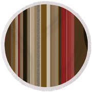 After Midnight Two Round Beach Towel