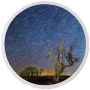 Round Beach Towel featuring the photograph Against All Odds by Darren White