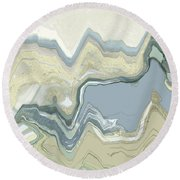 Agate Round Beach Towel
