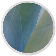 Agave Imprints Round Beach Towel