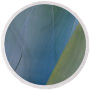 Agave Light Round Beach Towel
