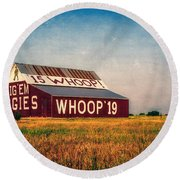 Aggie Barn 2015 Round Beach Towel