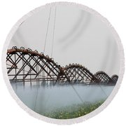 Agriculture - Irrigation 3 Round Beach Towel