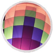 Air Balloon Round Beach Towel