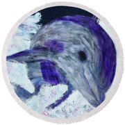 Airborne Round Beach Towel by Donald J Ryker III