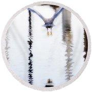 Airborne Round Beach Towel