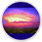 Airgasm Round Beach Towel