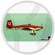 Airventure 12 Round Beach Towel