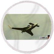 Airventure 222 Overhead Round Beach Towel