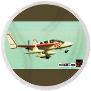 Airventure 498 Round Beach Towel
