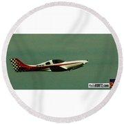 Airventure 777 Round Beach Towel