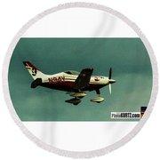 Airventure 9 Round Beach Towel
