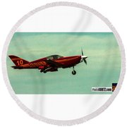 Airventure Race 10 Round Beach Towel