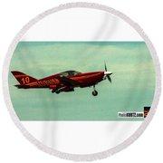 Airventure Race 10 Round Beach Towel