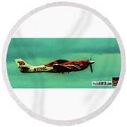 Airventure Race 30 Round Beach Towel
