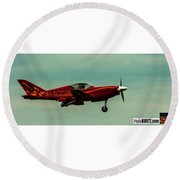 Airventure Race 42 Round Beach Towel