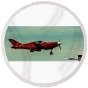 Airventure Race 42 Round Beach Towel